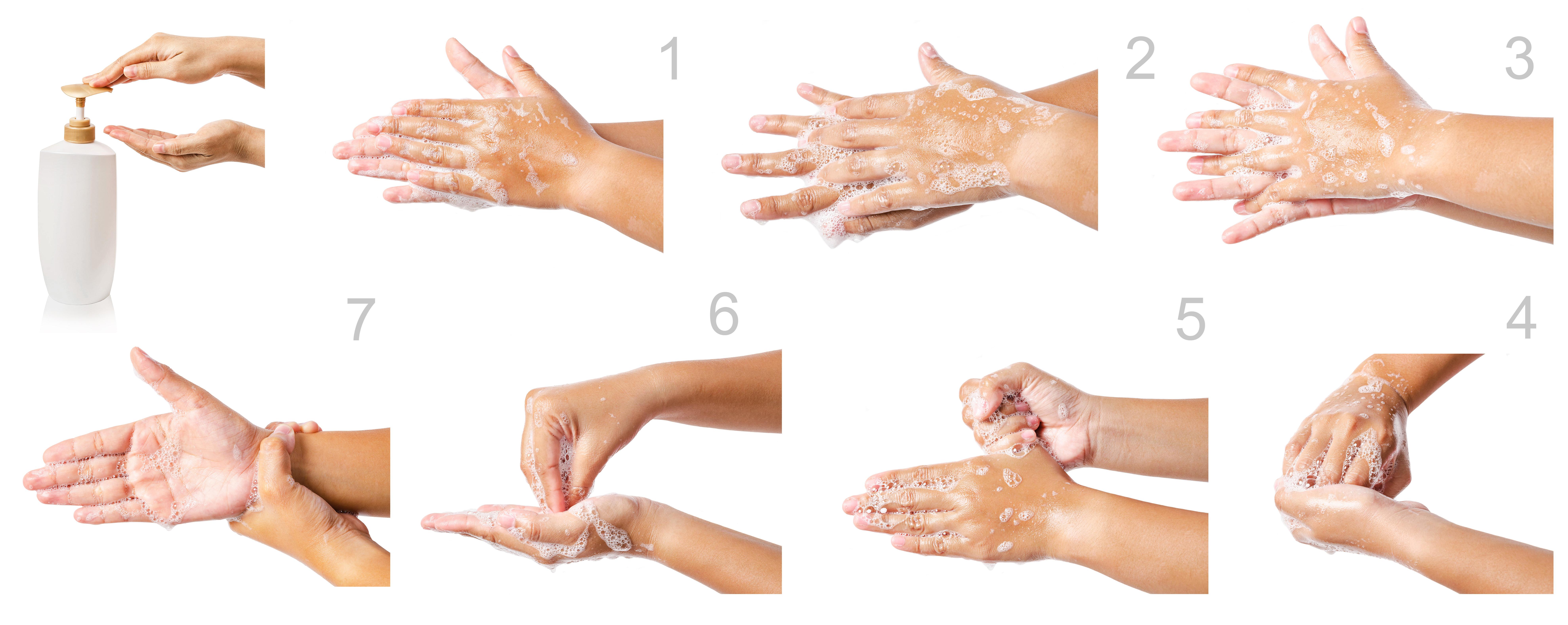 Anleitung Händewaschen