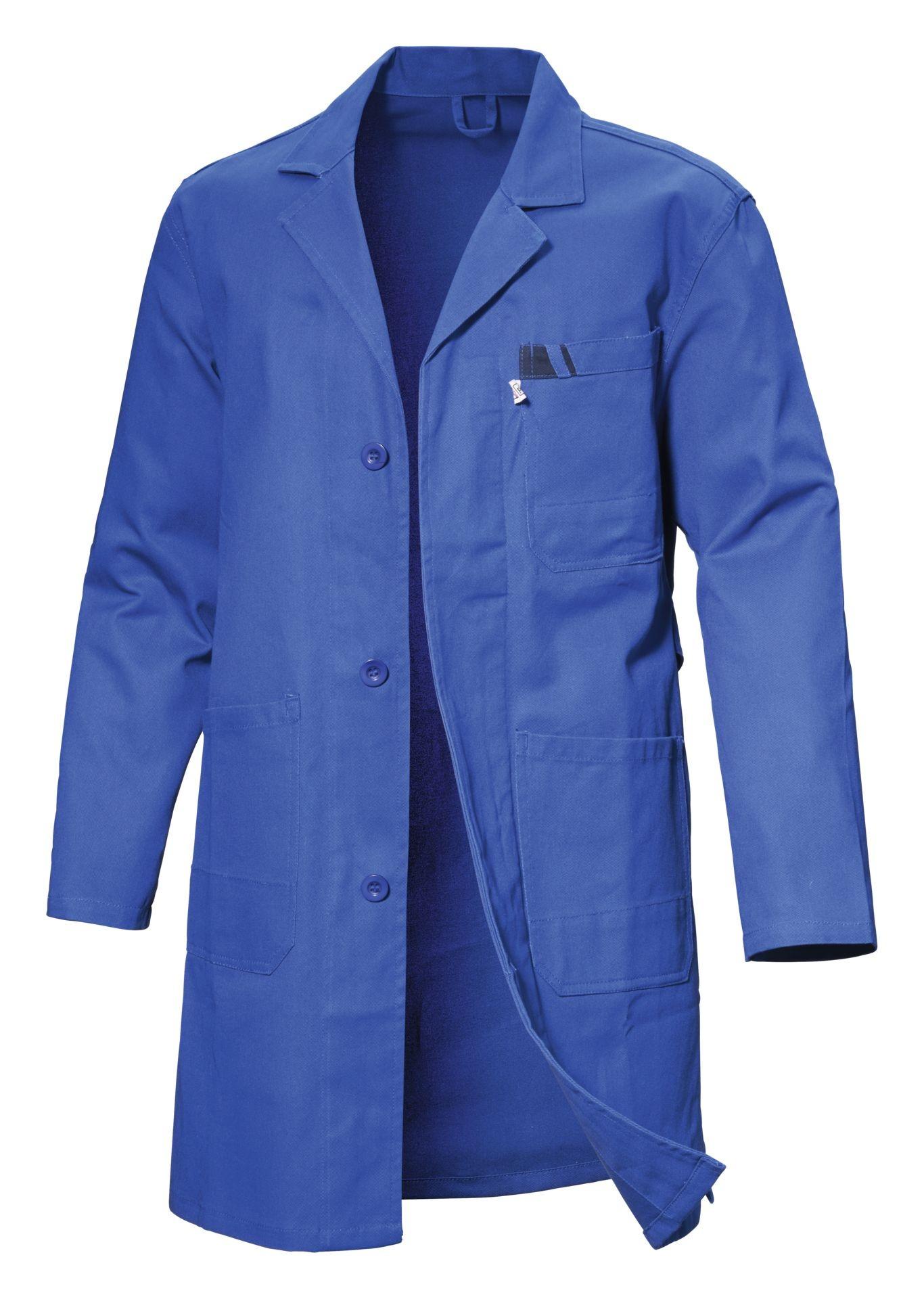 Arbeitskittel blau
