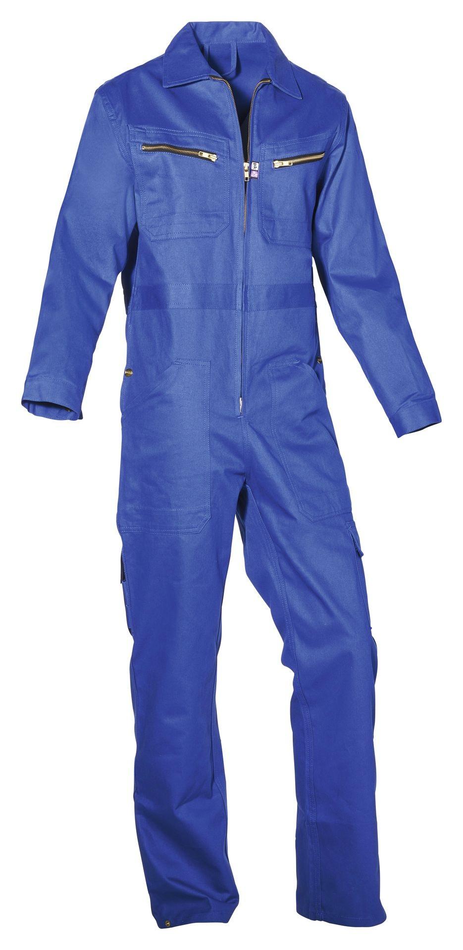 Arbeitsoverall blau Blaumann