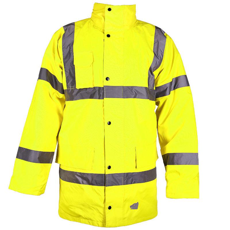 Warnschutzjacke gelb Parka
