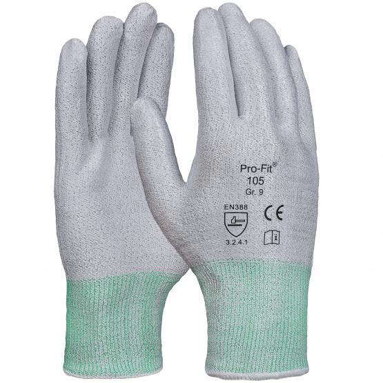 Schnittschutzhandschuh, Level 2, ohne Beschichtung,