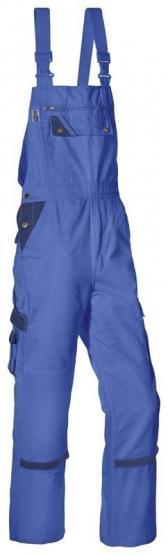 Threeline Perfect Arbeitslatzhose kornblau-hydronblau