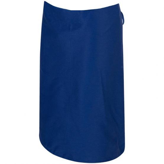 Köper-Hüftschürze 60 x 70 cm, blau