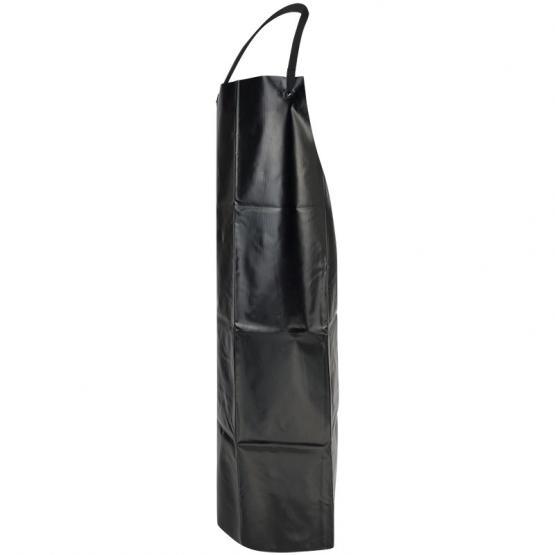 schwarzeVinyl-Latzschürze, 90 x 120 cm, schwarz
