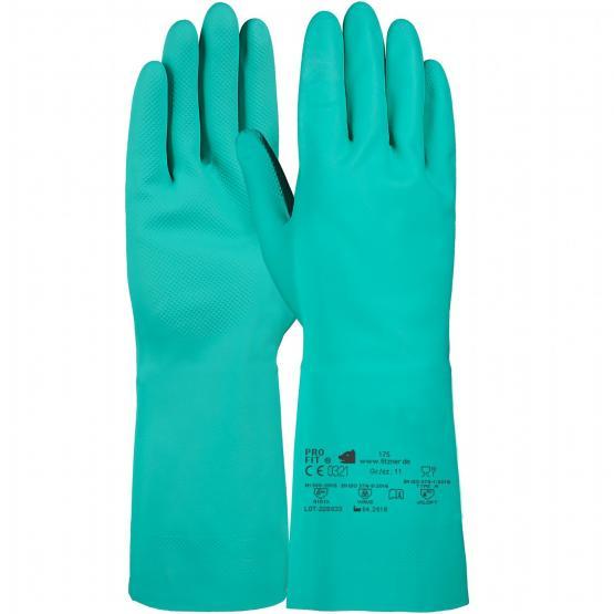Trivex Nitril Chemikalienschutzhandschuh, 33 cm, grün