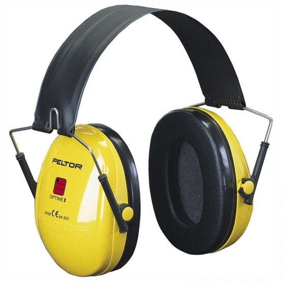 3M Peltor Optime I Gehörschutzkapseln gelb, SNR-27 db (A)