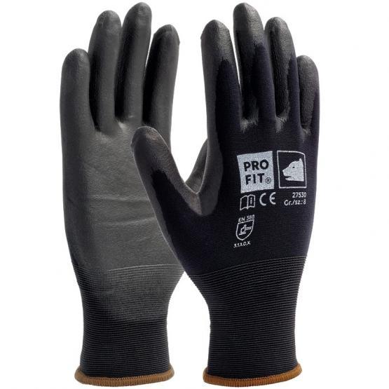 Soft-PU-Handschuh, schwarz