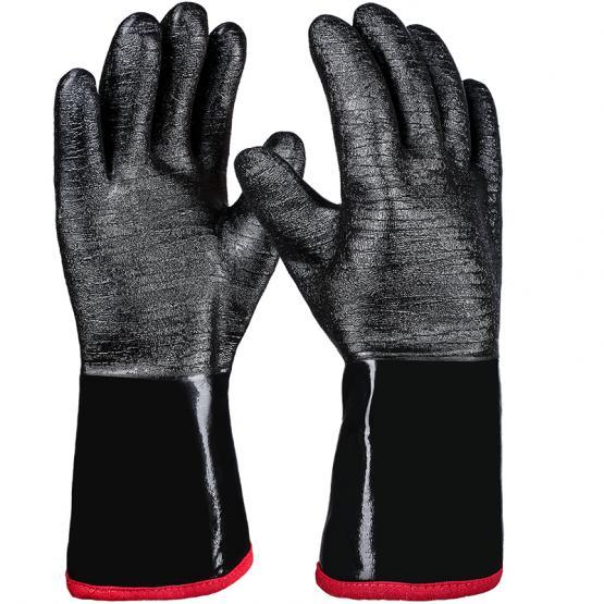 Neo-Grip Neopren Chemikalienschutzhandschuh, schwarz, 35 cm