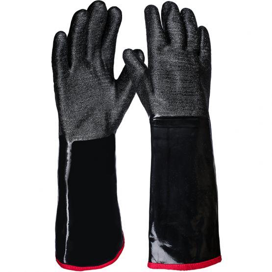 Neo-Grip Neopren Chemikalienschutzhandschuh, schwarz, 45 cm