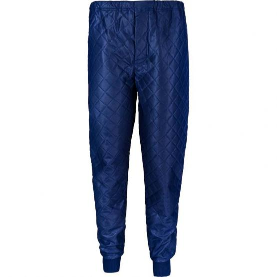 Thermobundhose, blau