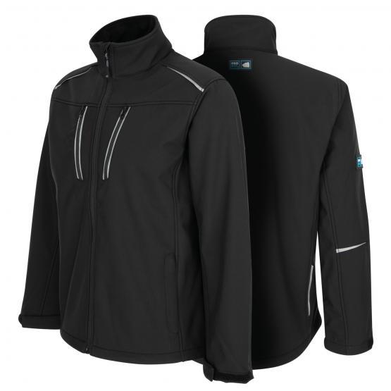 Pro-Fit® Softshell -Jacke schwarz
