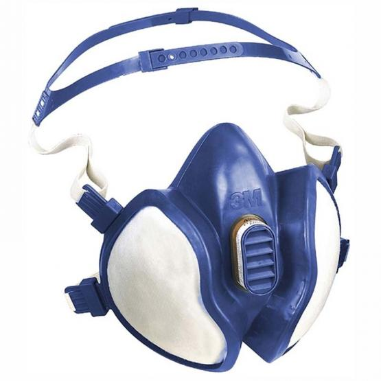3M Gase-Dämpfe-Maske 4000 Serie FFABE1P3 R D