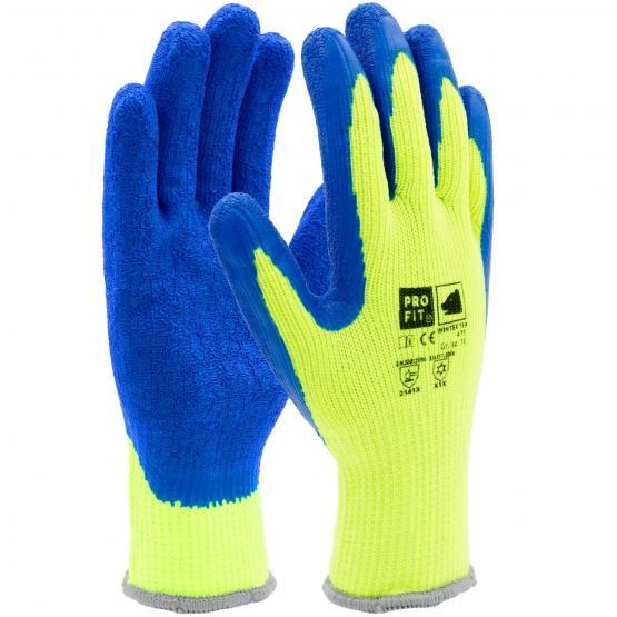 Winter Latex-Handschuh, schrumpfgerautes Latex