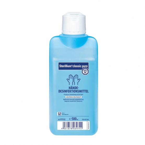 Sterillium® classic pure 500 ml, Plastikspender