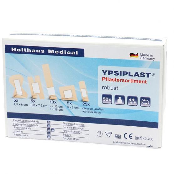YPSIPLAST  Pflastersortiment robust Schachtel à 50 Stück