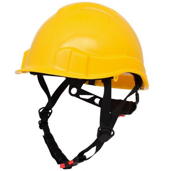 Sports Cap Schutzhelm, kurzer Schirm gelb, Elektriker-Helm