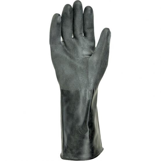 Butyl-Chemikalien-Schutzhandschuh, 30 cm lang, 0,5 mm Stärke