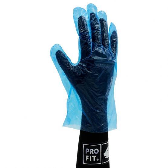 PE-Einweg-Handschuh, gehämmert, transparent 100 St. Beutel