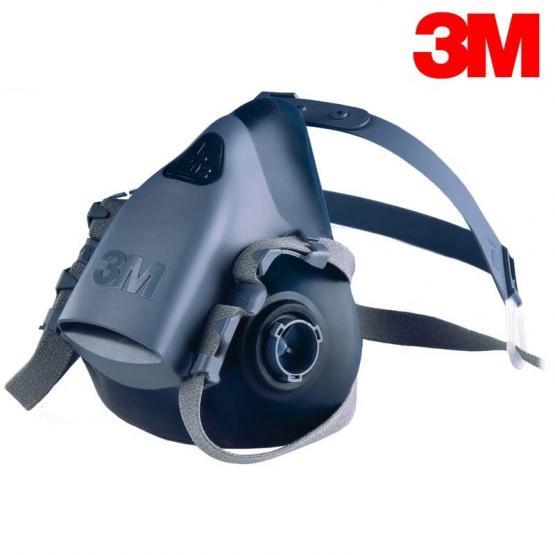 3M Halbmaskenkörper, Silikon, 7500 Serie ohne Filter, Gr. L