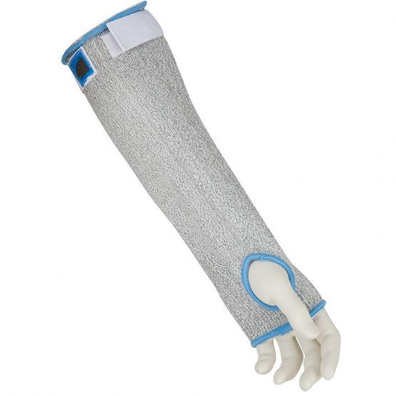 Armschoner HPPE, 35 cm, mit Daumenloch und Klettverschluß