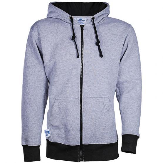 Sweat-Shirt, grau/schwarz S=0