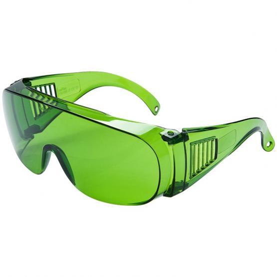 Visitor Schutzbrille, grüne Polycarbonatscheibe