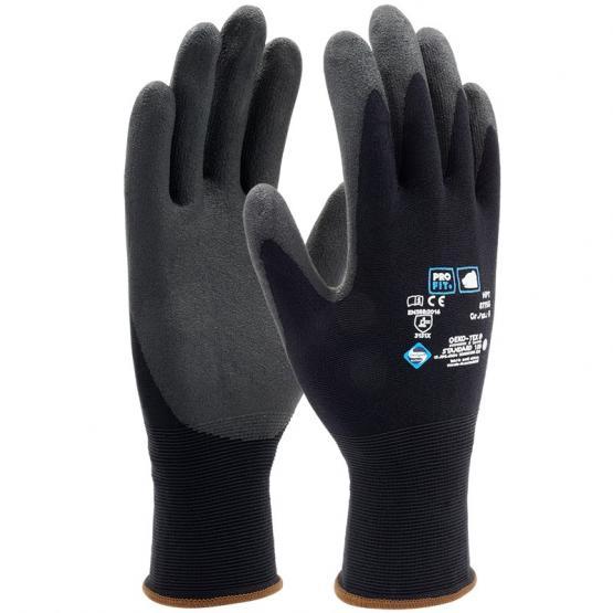 HPT-Polymer-Feinstrickhandschuh schwarz / schwarz 9 | schwarz