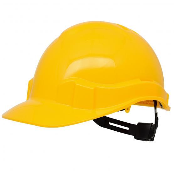 Pro Cap PE-Bausicherheitshelm, gelb