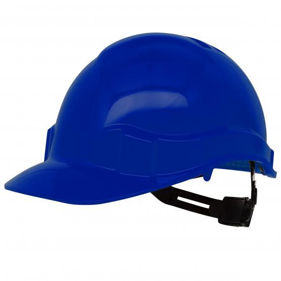 Pro Cap PE-Bausicherheitshelm, blau