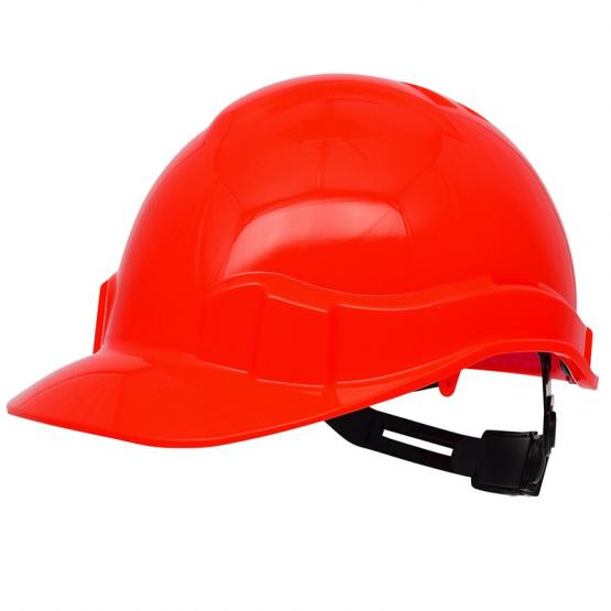 Pro Cap PE-Bausicherheitshelm, rot