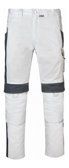 Bestwork Arbeitsbundhose weiß/grau