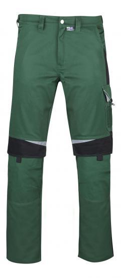 Bestwork Arbeitsbundhose grün/schwarz
