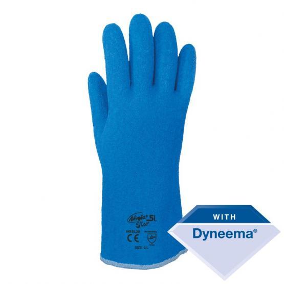 Ninja Latex Star 5, Schnittschutzlevel 5, blau, 30 cm 9