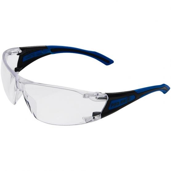 Falcon 2 Schutzbrille, klare Polycarbonatscheiben