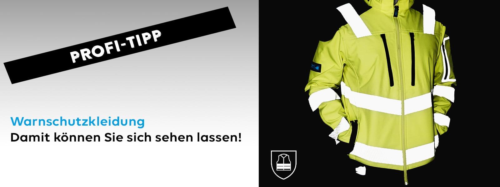 Warnschutzkleidung nach DIN EN ISO 20471 – Damit können Sie sich sehen lassen!