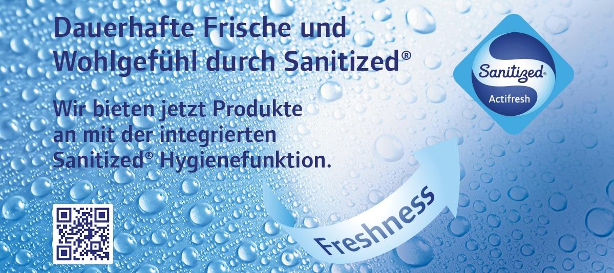 Schutzhandschuhe mit Sanitized® Hygienefunktion